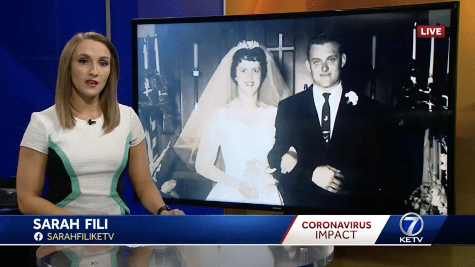 'I'm sad to see them both gone': Couple married 60 years dies from COVID-19 hours apart